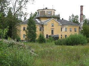 Raadi Manor - Military airport building in 2008