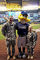 Milwaukee Brewers provide major-league salute to Wisconsin National Guard 130916-Z-AH525-033.jpg