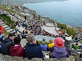 Minack Theatre before show starts.jpg