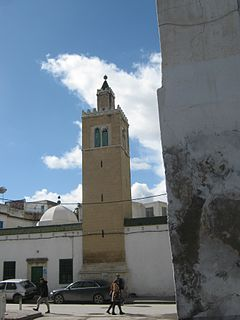 Tabbanine Mosque building in Tunisia