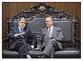 Ministro da Defesa, Celso Amorim, entrega ao presidente do Congresso minutas do Livro Branco e das novas versões da Política Nacional de Defesa e da Estratégia Nacional de Defesa (7609224048).jpg