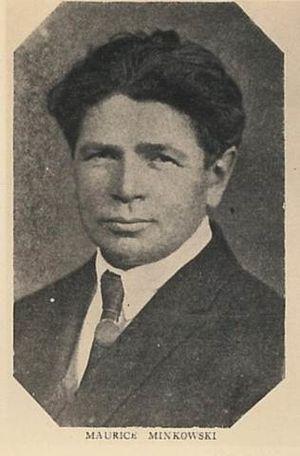 Maurycy Minkowski - Maurycy Minkowski (1920s)