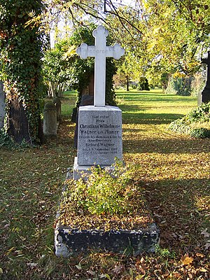 Minna Planer - The gravesite of Minna Planer in Dresden.