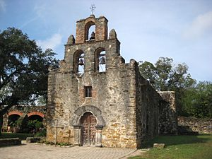Spanish missions in Texas - Mission San Francisco de la Espada