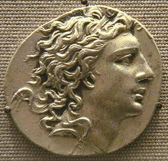 Marcus Marius (quaestor) - Coin of Mithradates VI