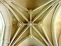 Mitry-Mory (77), église Saint-Martin, 1er collatéral sud, 3e travée, voûte.jpg