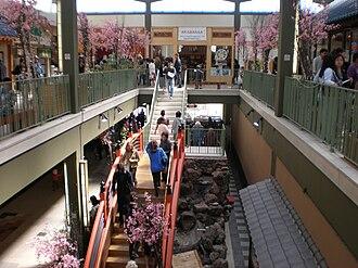 Japan Center (San Francisco) - Interior of Miyako Mall (now Japan Center East)