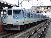 Model 115-1000 of JR East.JPG