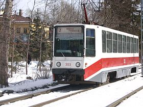 Image illustrative de l'article Tramway de Tomsk