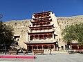 Mogao Caves Dunhuang Gansu China 敦煌 莫高窟 - panoramio (4).jpg