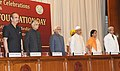 Mohd. Hamid Ansari, the Governor of Punjab, Shri Shivraj Patil, the Governor of Haryana, Shri Jagannath Pahadia, the Union Minister for Health and Family Welfare.jpg