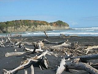 Mokau River river in New Zealand