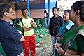 Monojit Das Talks with Nisana Foundation Volunteers - Football Workshop - Sagar Sangha Stadium - Baruipur - South 24 Parganas 2016-02-14 1422.JPG