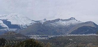 Province of Jaén (Spain) - Image: Montes de Jaén