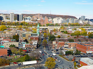 Atwater Avenue thoroughfare in Montreal, Canada