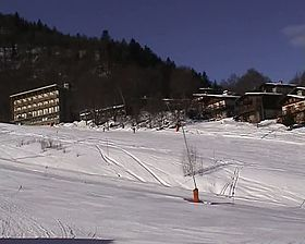 Station de ski des Monts d'Olmes sur la commune de Montferrier