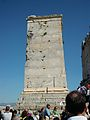 Monument a Agripa, propileus de l'Acròpoli d'Atenes.JPG