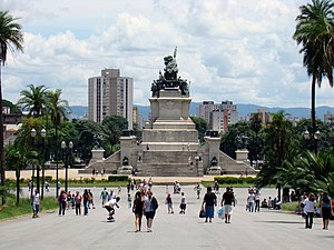 Monument to the Independence of Brazil - The Monument is situated where Brazilian Independence was declared.