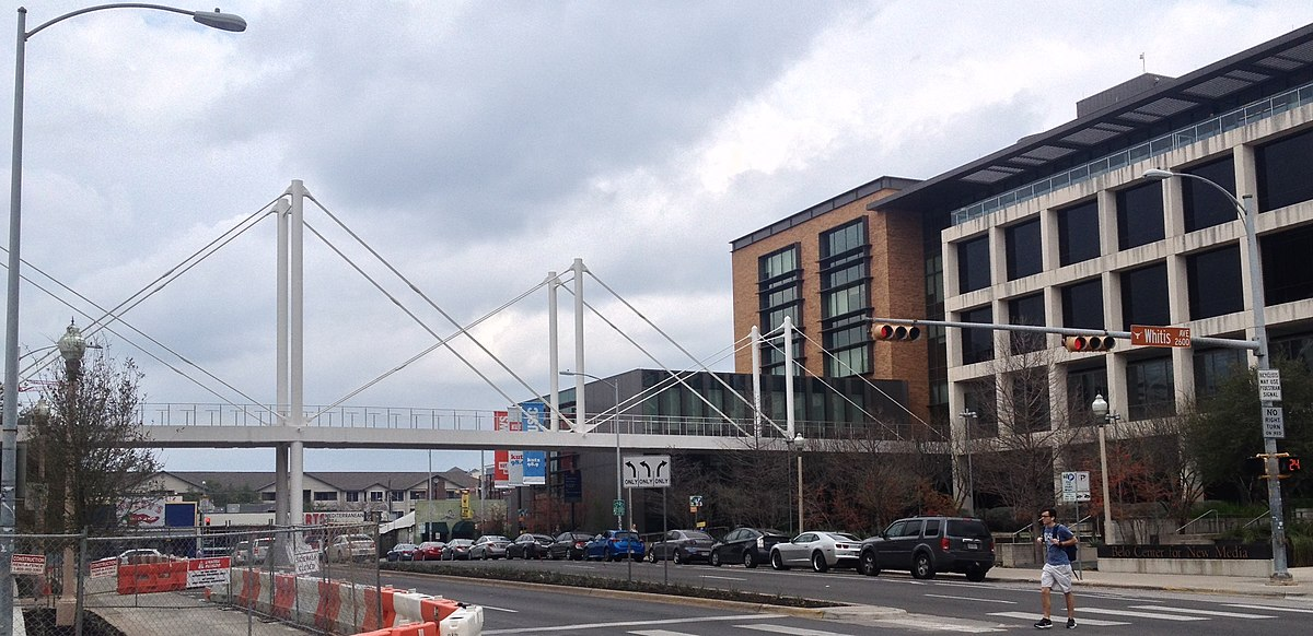 Moody Pedestrian Bridge Wikipedia