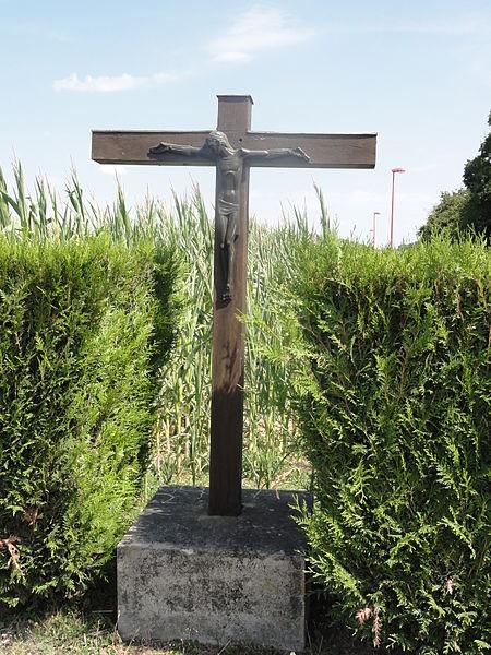 Moranville (Meuse) croix de chemin