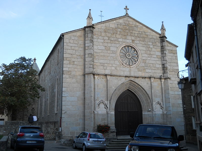 St. Peter church, Mornant, Rhône, France