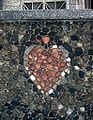 Mosaic of heart at wall of Parish of the Sacred Heart of Lord of Jesus in Gdynia.jpg