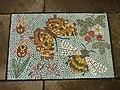 Mosaic pavement, Gillespie Park Local Nature Reserve, Highbury - geograph.org.uk - 2001321.jpg