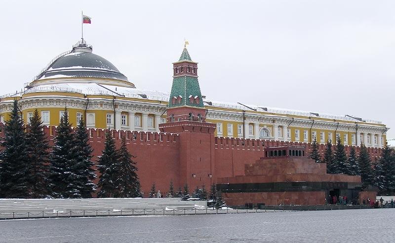 Moscow kremlin senate mausloleum