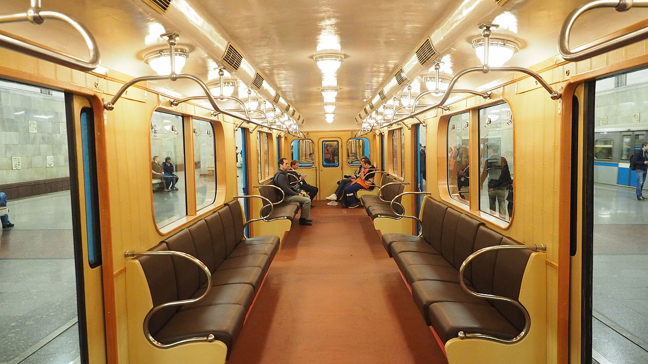 File Moscow Metro D 2037 Museum Car Interior Jpg