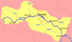 Москва-река - средняя река в Центральной России, в Московской и частично...