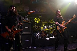 Phil Campbell, Mikkey Dee and Lemmy Live