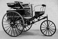 The Benz Patent-Motorwagen Nummer 3 of 1888