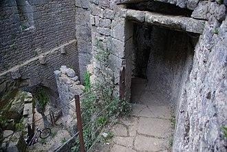 Alzou (Ouysse) - Image: Moulin du Saut 1 Stevage