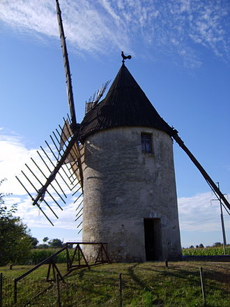 Vensac - Image: Moulin vensac