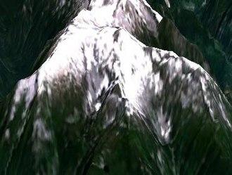 Mount Breakenridge - Mount Breakenridge as rendered by NASA World Wind
