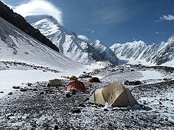 Mount Noshaq seen from the base camp (photo Louis Meunier).jpg