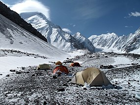 Mount Noshaq seen from the base camp (photo Louis Meunier).jpg