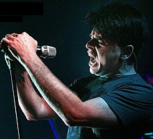Gary Numan performing in 2007