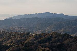 Mount Nokogiri (Chiba) - Mount Nokogiri from Mount Iyogatake