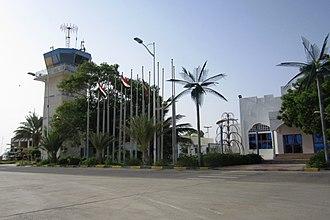 Riyan International Airport - Image: Mukulla Riyan airport (6407124711)