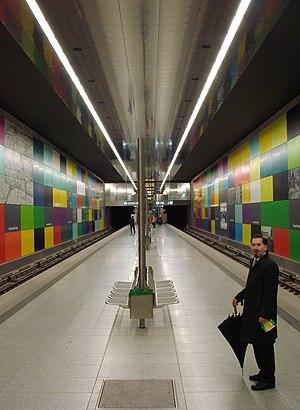 Munich U-Bahn, U1 line, Georg Brauchle-Ring st...