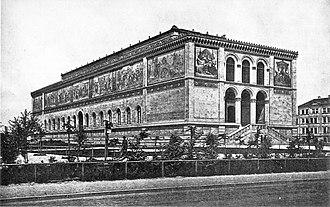 Neue Pinakothek - Neue Pinakothek 1880