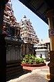 Munneswaram Sivan temple inner sanctorum.jpg