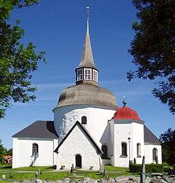 Munsö kirke i juni 2012