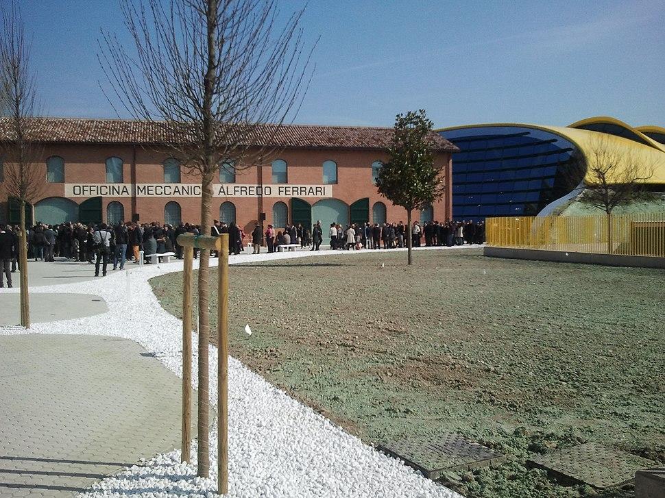 The Museo Enzo Ferrari in Modena
