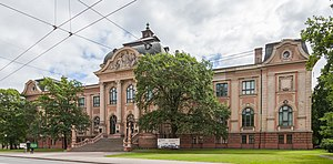 Latvian National Museum of Art - Latvian National Museum of Art building at Janis Rozentāls sq. 1 before reconstruction