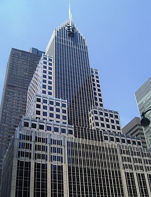 Mutual of America - The Mutual of American Building at 320 Park Avenue in Midtown Manhattan, New York City