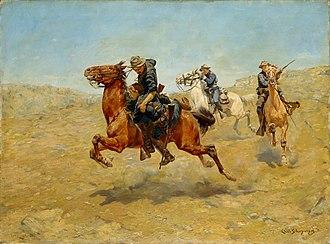 """Charles Schreyvogel - """"My Bunkie"""" by Charles Schreyvogel, 1899"""