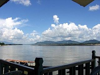 Myitkyina City in Kachin State, Myanmar