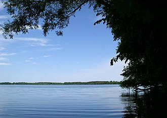 Myre-Big Island State Park - Albert Lea Lake from Myre-Big Island State Park